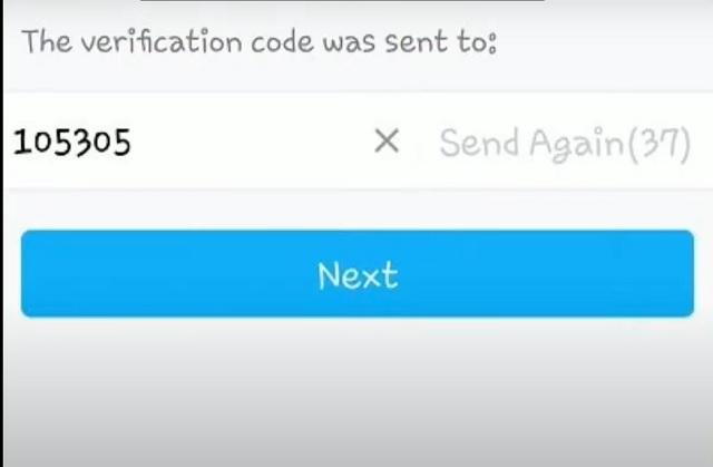 Bước 3 - nhập mã code