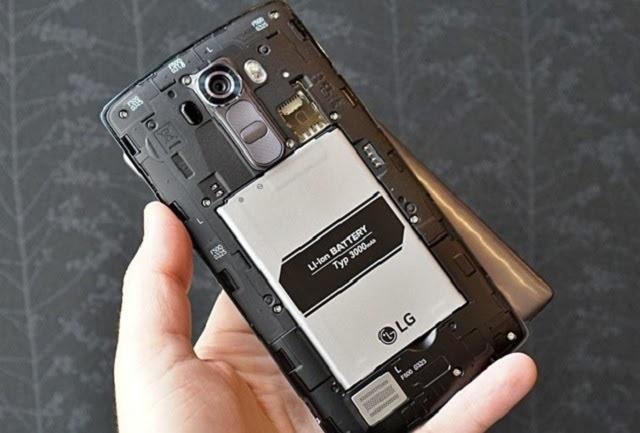 Kiểm tra pin của máy LG G4