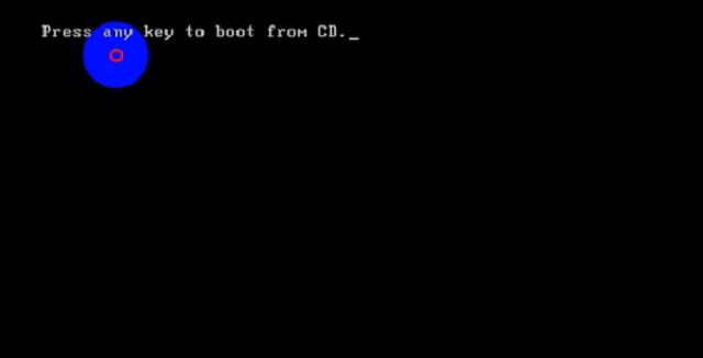 Boot USB thành công