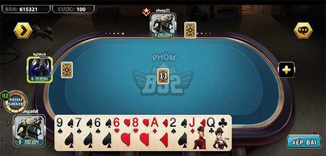 Một cổng trò chơi bài đổi thưởng chuẩn nhất hiện nay - B52 Club