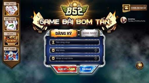 Đăng ký game B52 đơn giản chỉ với 10 giây