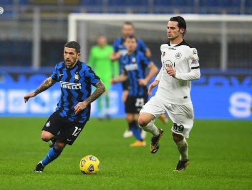 Các thống kê đáng chú ý của Spezia và Inter Milan